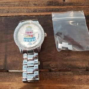 Betsey Johnson Birthday Cake Watch